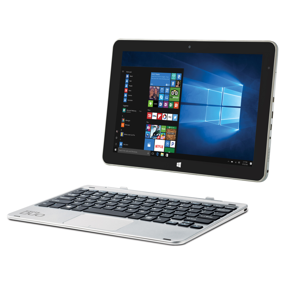 Singer Notebook DUO 2 In 1  SIN-DUO-W10