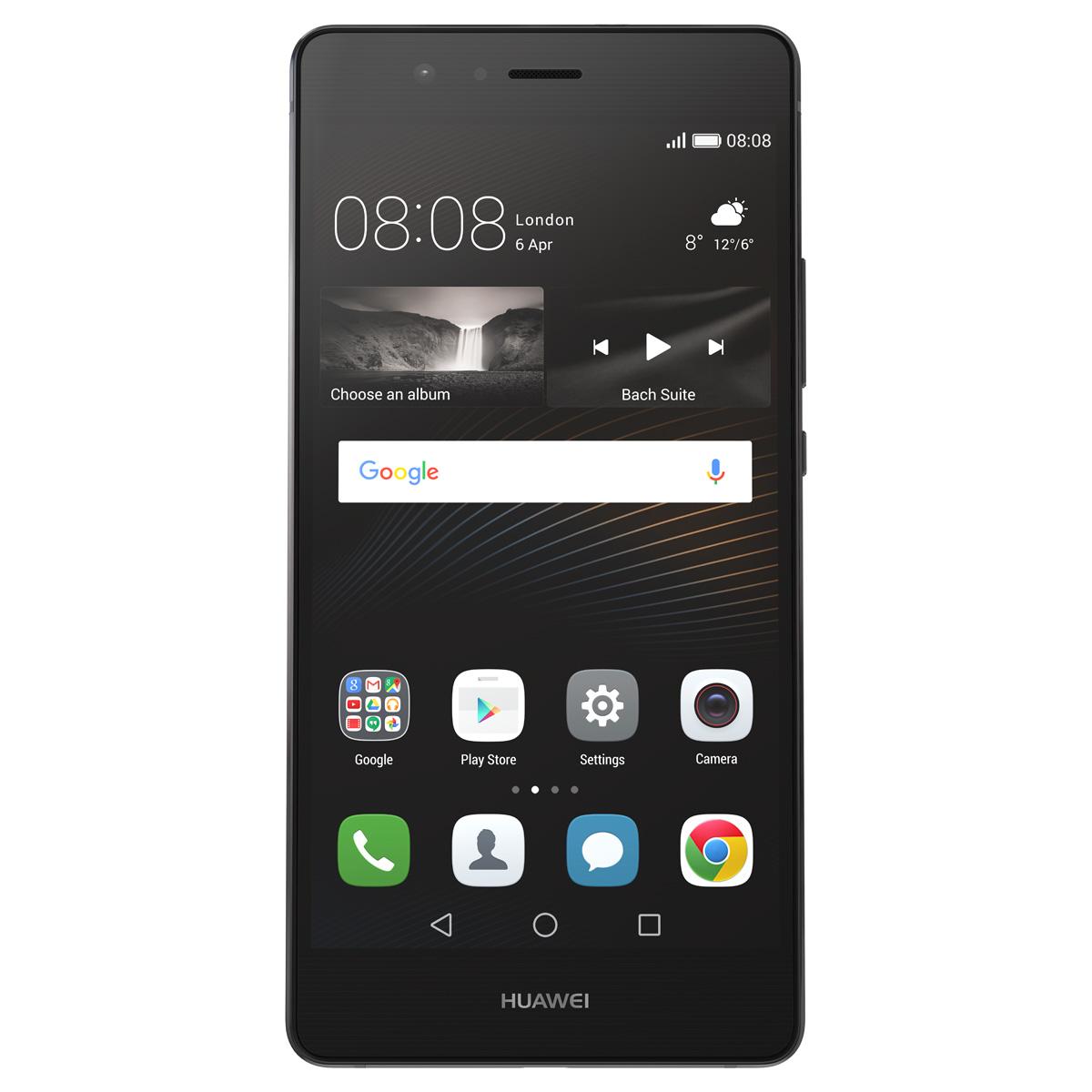 Huawei P9 Lite (4G) - Black, Silver  HU-P9-LITE