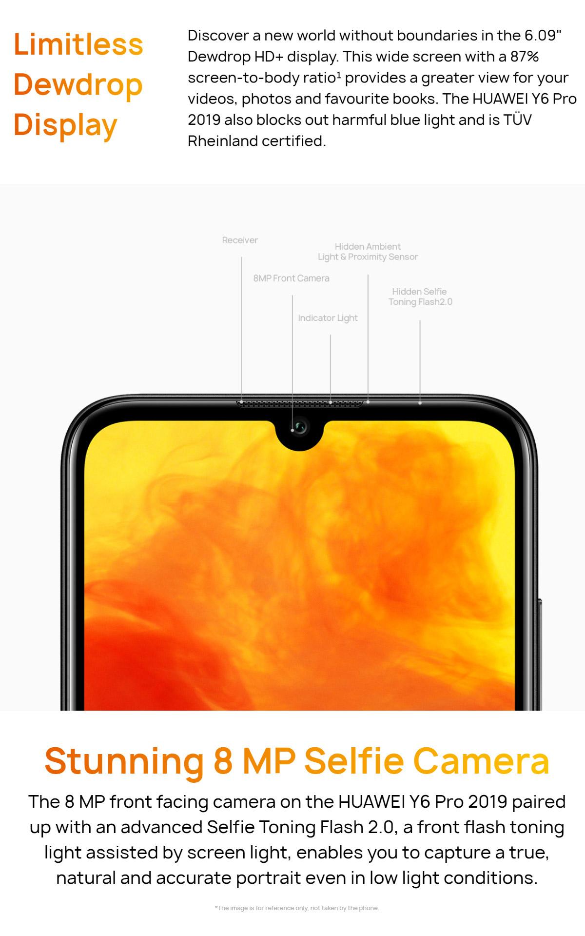 Buy Huawei Y6 Pro (2019) (3GB+32GB) (Brown) | Model HU-Y6-2019-BRW
