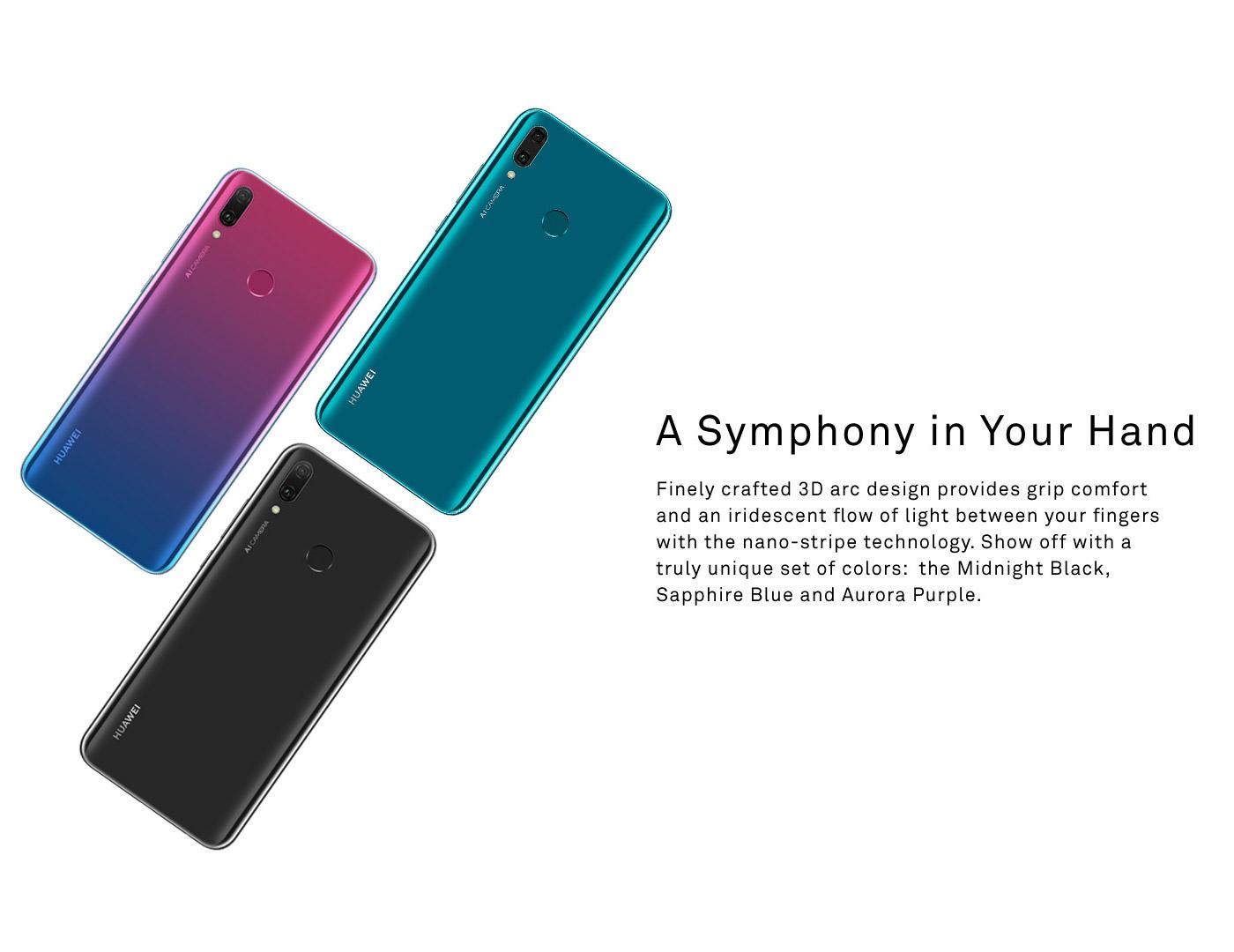 Buy Huawei Y9 2019 (4GB+64GB) (Black) | Model HU-Y9-2019-B