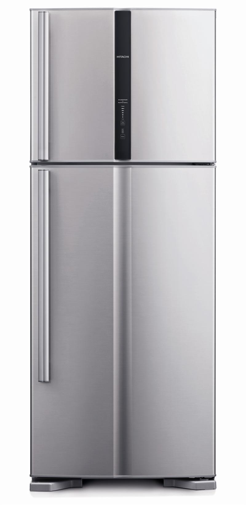 Refrigerator - 450L, 2 Doors, Silver      H-RV540PG3SLS