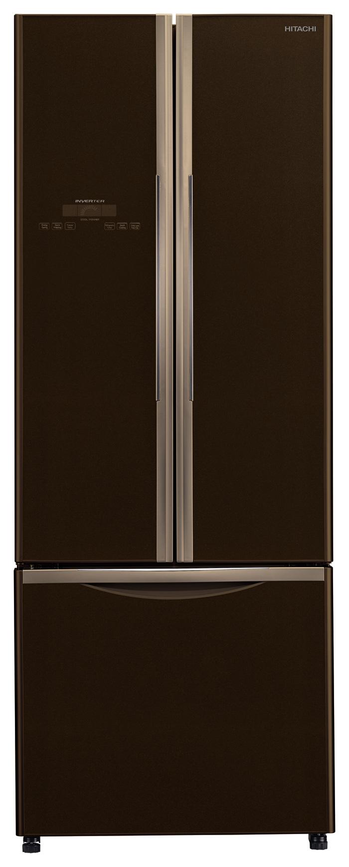 Refrigerator - 455L, 3 Doors, Brown      H-RWB550PG2GBW
