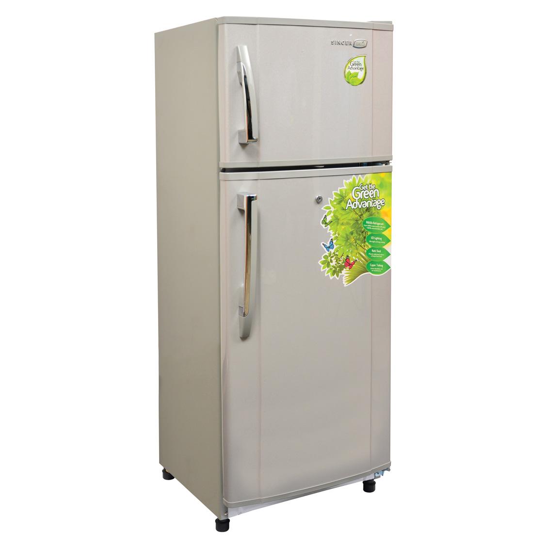 GEO Refrigerator - 210L, Eco-Friendly, 2 Door      GEO-242D