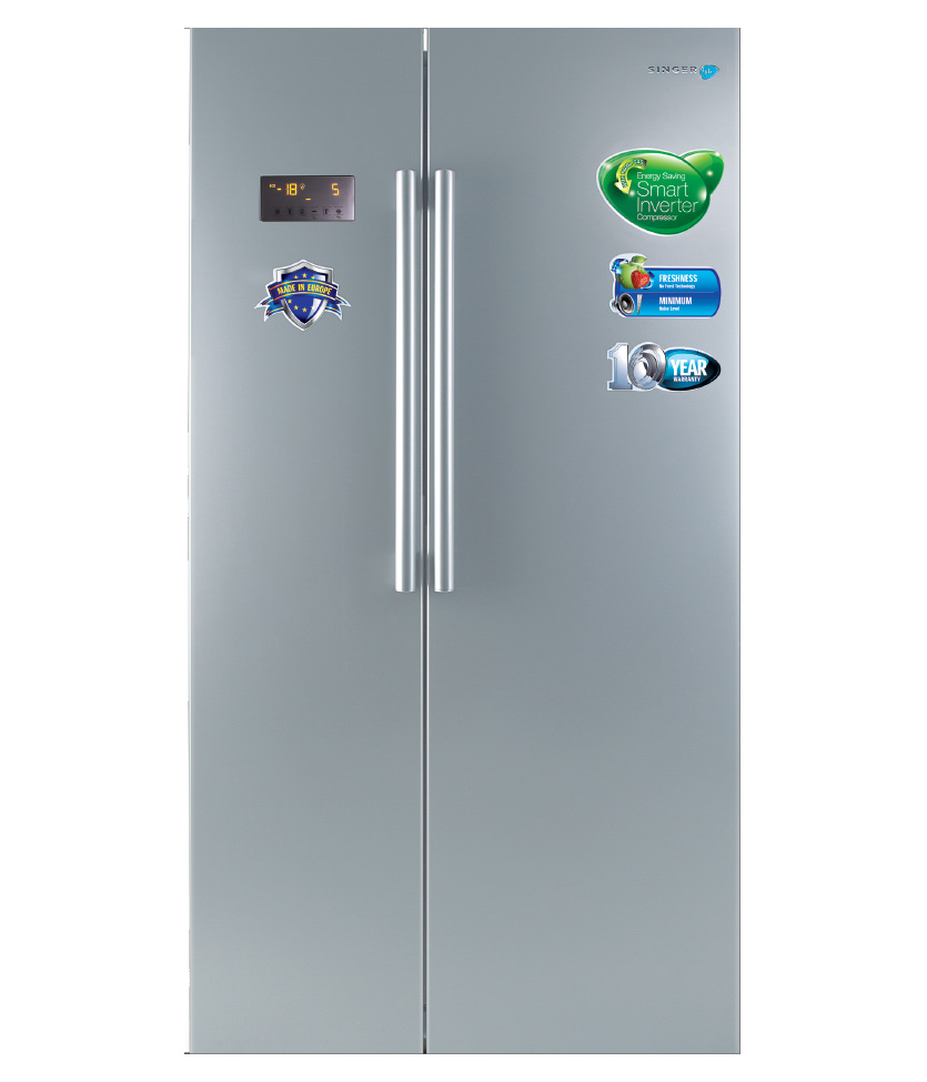 Singer Side-By-Side Refrigerator  SBS-GR600