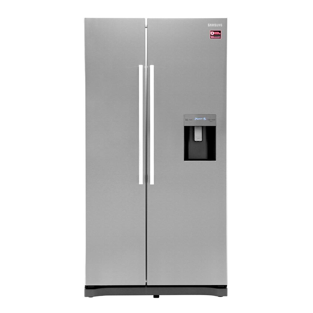 Buy Samsung Side By Side Refrigerator 554l Grey Model
