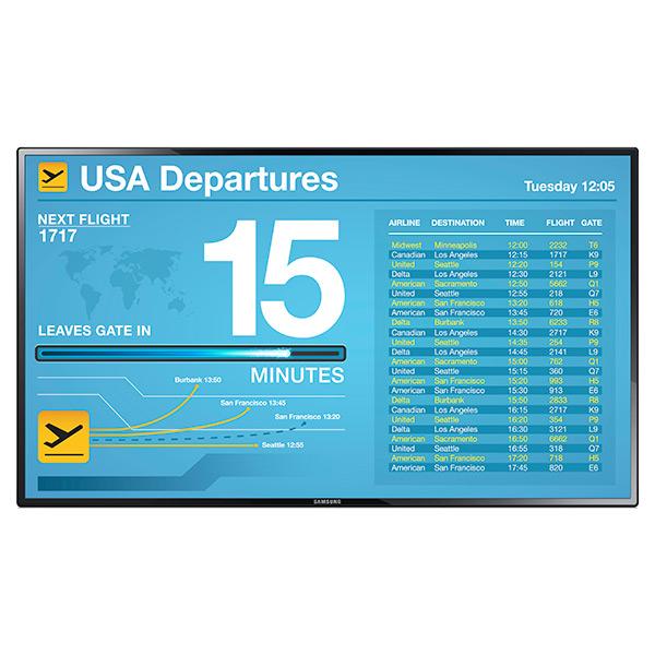 """Samsung LED TV Digital Signage - 55"""", Digital Signage      SMGLH55PECPL"""